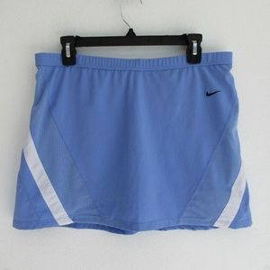 Nike Women's Tennis Skirt Sz. M Court Dri Fi Blue